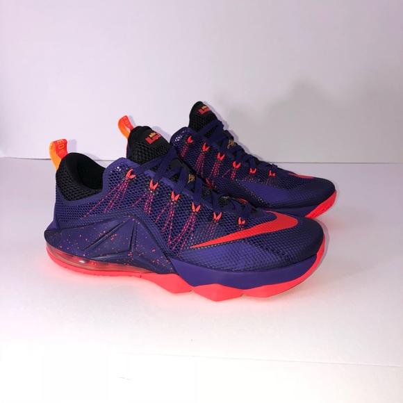 reputable site dce47 6c45f Nike Lebron 12 Low  Court Purple
